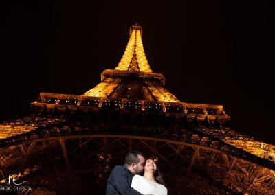 Fotos de novios en París