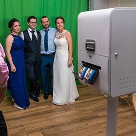 Fotomatón de boda